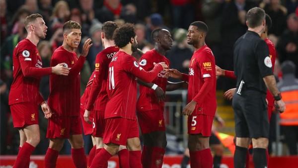 Ket Foto : Liverpool sukses mengalahkan Sheffield United di pekan ke-21 Liga Inggris. [Clive Brunskill/Getty Images]