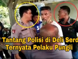 Pria Tantang Polisi di Deli Serdang Ternyata Pelaku Pungli, Uangnya buat Beli Narkoba