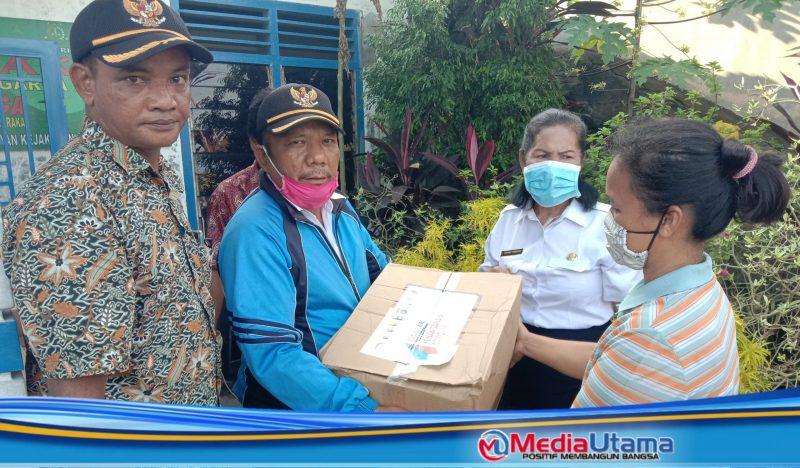 Desa Cinta Dame Salurkan Bantuan Sembako Dari Provinsi Sumut Kepada Guru Honorer Yang Terdampak Covid 19 Media Utama
