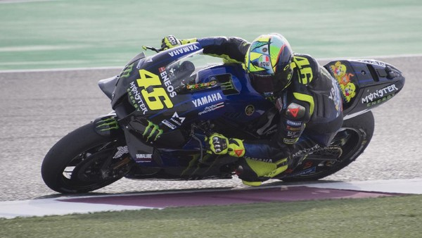 Ket Foto : Monster Energy Yamaha, Valentino Rossi? (Getty Images/Mirco Lazzari gp)