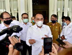Gubernur Sumut: Tingkatkan Intensitas Komunikasi ke Pemerintah Daerah