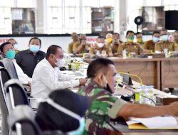 Pertemuan Camat dan Lurah se-Kota Medan, Gubernur: Ingatkan Warga Protokol Kesehatan