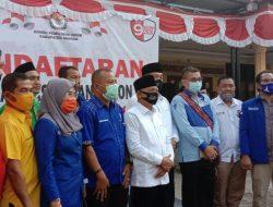 Didukung Banyak Partai, Calon Petahana ST20 Mendaftar ke KPU Asahan
