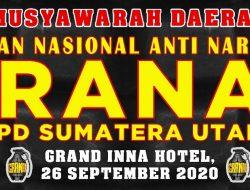"""Besok, Granat Sumut Gelar Musda di Hotel Grand Inna Medan, """"Dorong Masyarakat Melawan Narkotika"""""""
