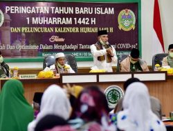 Hadiri Peringatan Tahun Baru Islam 1442 H, Gubernur Edy Ajak Ulama Tuntaskan Pandemi Covid-19