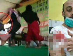 Syekh Ali Jaber Ditusuk Saat Berdakwah di Bandar Lampung