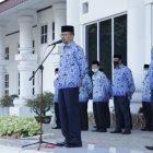 Ket Foto :Pemkab Asahan Gelar Upacara Hari Kesadaran Nasional.