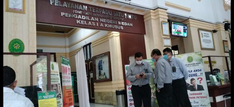 Ket Foto : Pengadilan Negeri Medan.