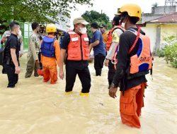 Tinjau Banjir di Tebing Tinggi, Edy Rahmayadi Minta Lakukan Penanganan Cepat