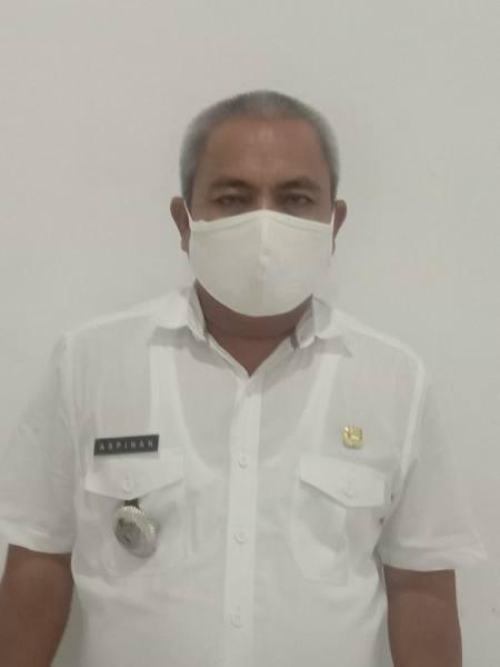 Ket Foto : Aspihan Camat Pulau Rakyat.