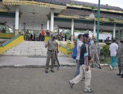 Kunjungi Lapangan Merdeka & Taman Ahmad Yani, Tim Satgas Covid-19 Kota Medan Imbau Warga Disiplin Prokes
