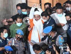 Habib Rizieq Shihab Resmi Ditahan Selama 20 Hari Kedepan, Ini Alasan Polisi