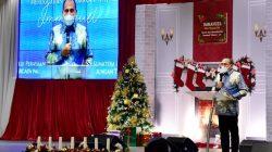 Hadiri Natal Oikoumene Sumut, Gubernur Ajak Pelihara Kedamaian dan Persaudaraan Antarumat Beragama