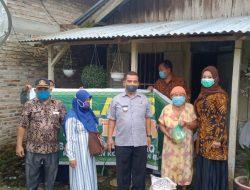 Camat Kisaran Barat Serahkan Bantuan Lazis Kepada Kaum Dhuafa dan Anak Yatim