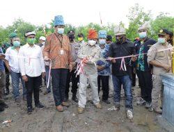 Bupati Asahan Resmikan Nursery Mangrove Desa Silo Baru