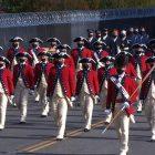 Ket Foto : Pass in review adalah tradisi militer yang mencerminkan transfer kekuasaan secara damai kepada panglima tertinggi baru. (CNN)