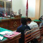 Ket Foto  : Para saksi saat memberikan keterangan di ruang Cakra 3 Pengadilan Negeri Medan.