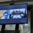 Ket Foto : Kedua terdakwa saat menjalani sidang di PN Medan beberapa waktu lalu.