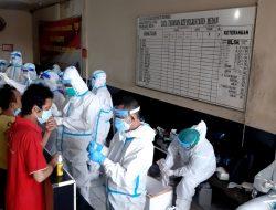 829 Penghuni RTP Polrestabes Medan Jalani Tes PCR