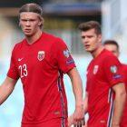 Ket Foto : Haaland bersama timnas Norwegia dikritik (Getty Images/Fran Santiago)