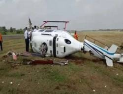 Kecelakaan Helikopter di Bandara Budiarto Curug, Kemenhub: Tak Ada Korban Jiwa