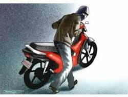 Rekaman CCTV Tentang Pencurian Motor Penghuni Indekos di Grogol Viral